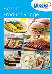 frozen product range